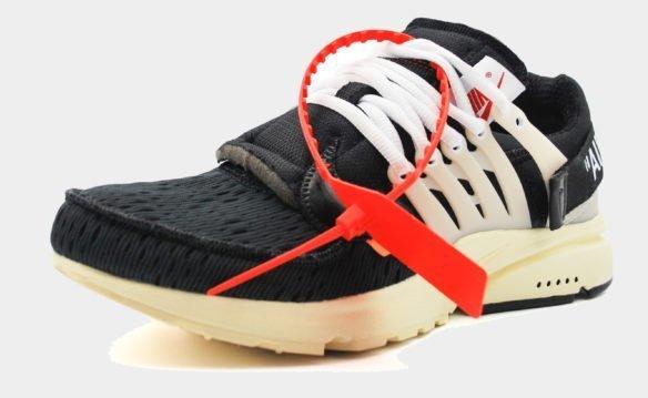 Nike Air Presto The Ten черные с белым